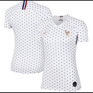 NEW Nike France 2019 Away Women's Stadium Jersey